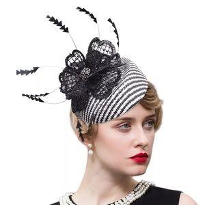 Accessories - 🆕️Chevron floral hat with strap